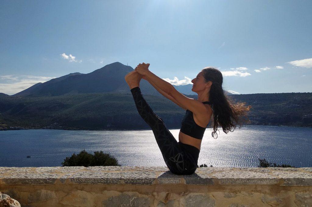 Σεμινάριο Iyengar Yoga με τη Μαρία Χρυσοχεράκη